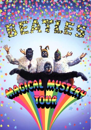 "The Beatles Magical Mystery Tour Photo Print  14 x 11/"""