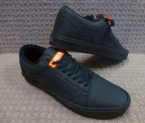 Zapatos Lite antiguo encerado Vans Hombre Negro Skool 5px7w