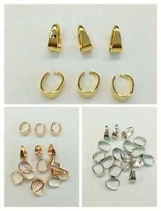 4fb42ade91 200 pz Ganci 11x5mm per ciondoli accessori bigiotteria | eBay