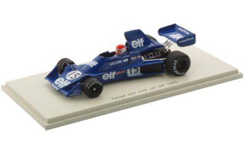 Tyrrell 007 M Leclere 1975  15 US GP 1 43 Model s1881 SPARK MODEL