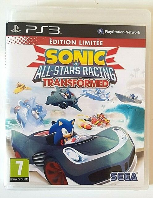 Sonic All Stars Racing Transformed Edition Limitée - PlayStation 3 PS3 - Complet