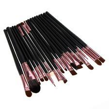 20 pièces Pro Maquillage Pinceaux Set Base Poudre Fard à paupières Eye-liner
