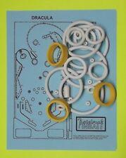 1979 Stern Dracula pinball rubber ring kit