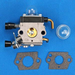 Carburetor Kit For St Fs38 Fs45 Fs46 Fs46c Fs55 Fs55r Km55r Fc55 Fs75 Fs80 Fs85 Trimmer C1q-s186a C1q-s143 C1q-s153 C1q-s71 Garden Tools