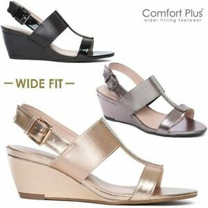 LADIES-WEDGE-SANDALS-WOMENS-WIDE-FIT-SUMMER-DRESS-HEELS-PARTY-STRAPPY-SHOES-SIZE