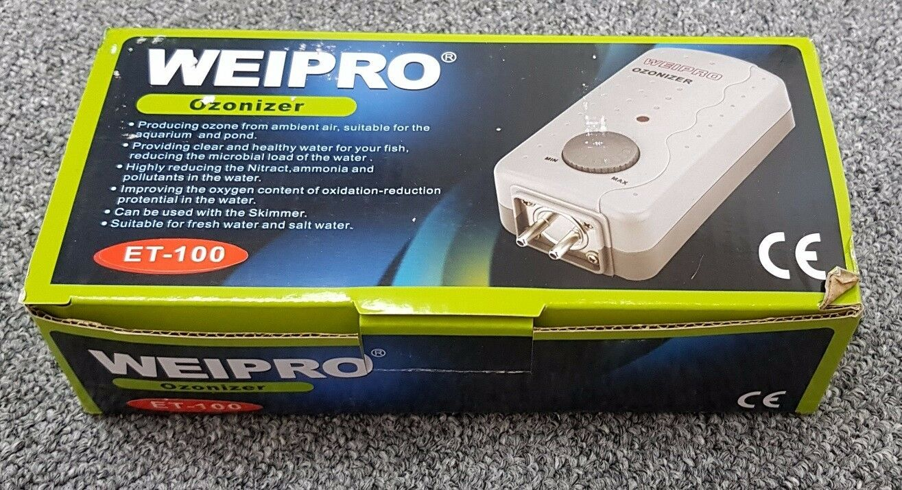 Weipro ET100 Ozonizer ozonator 100mg H need working with air pump ozone