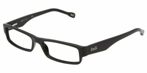 Dolce/& Gabbana D/&G Eyeglasses 1168 501 Black Frame Authentic New