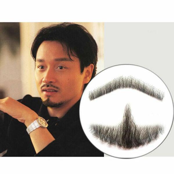 Fake Beard Mustache Simulation Man Stage Shows Lifelike Makeup Props Nice#  #mil