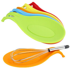 Am-Silicone-Spoon-Rest-Heat-Resistant-Kitchen-Utensil-Spatula-Mixer-Pad-Mat-Hol