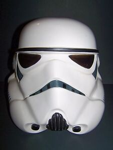 Vintage STAR WARS - 1997 DON POST Mask - white Stormtrooper Helmet Empire