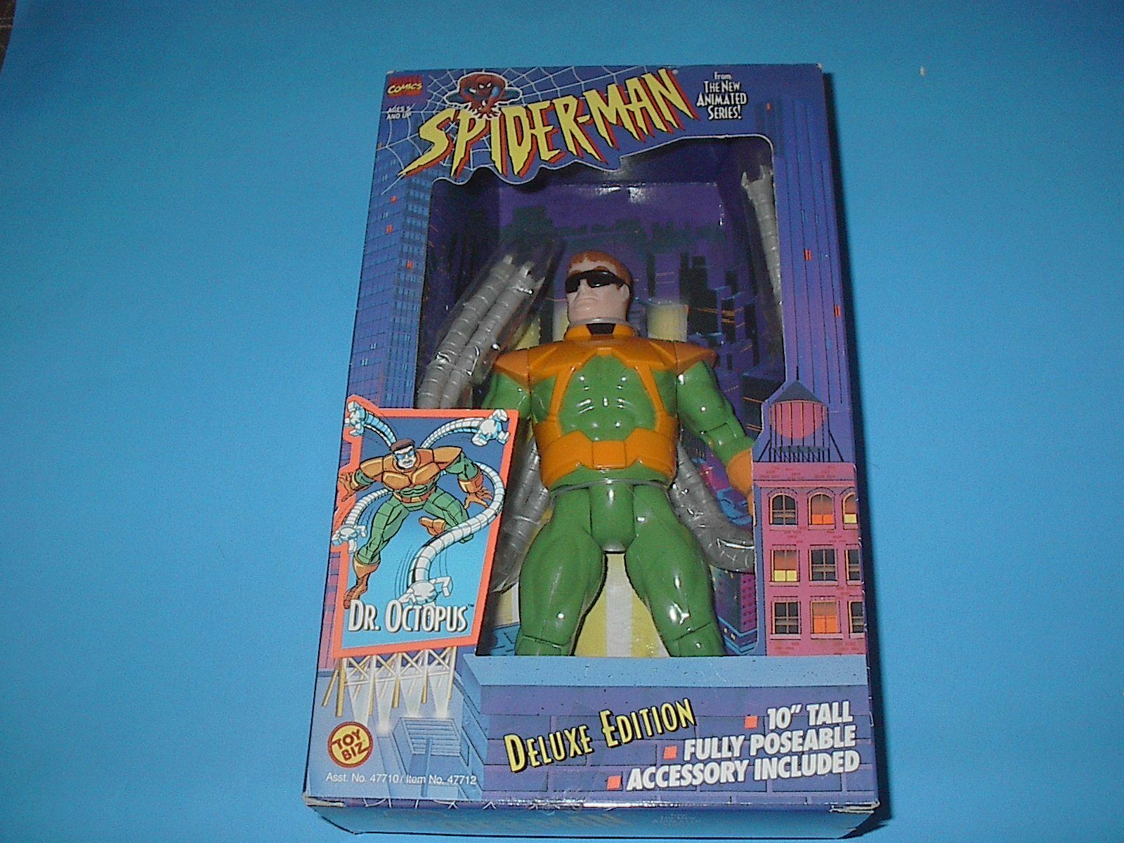 TOYBIZ MARVEL SPIDERMAN ANIMATED SERIES DR.OCTOPUS 10 INCH 1994  NEW VINTAGE