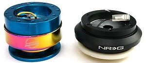 NRG Steering Wheel Short Hub Adapter Kit for 97-01 Honda Prelude 94-02 Accord