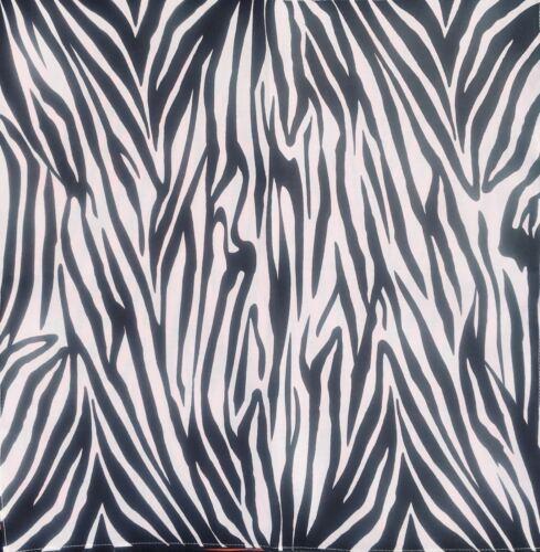 Zebra Print Bandana 100/% Cotton Head band Dog Scarf Neck Tie Feeanddave
