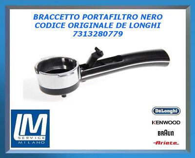 7313280779 BRACCETTO PORTAFILTRO  PER MACCHINA DE LONGHI EC155 EC700 EC710 EC220
