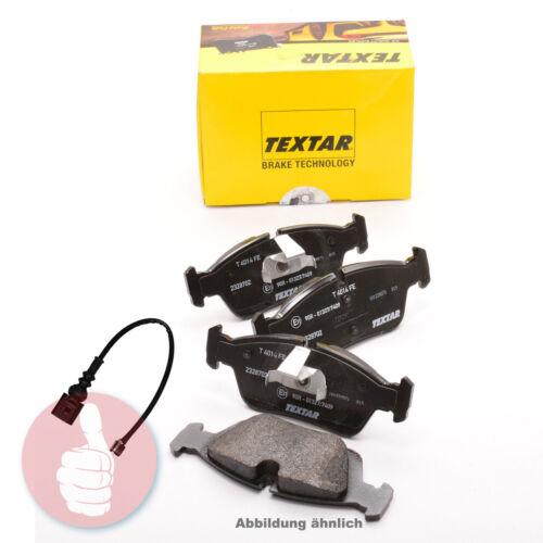 TEXTAR Bremsbeläge inkl Verschleißwarnkontakt Hinterachse 2390101