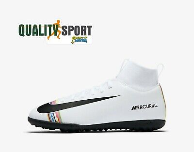Nike Superfly 6 Club Tf Bianco Scarpe Shoes Ragazzo Calcetto Aj3088 109 2019