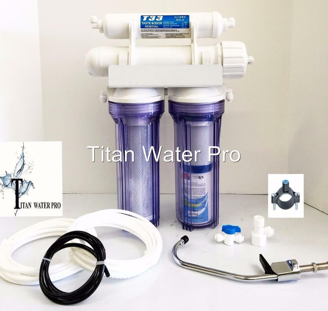 Water Filter UF Ultra Filtration 5 Stages Sediment,GAC,Fluoride & Arsenic Filter