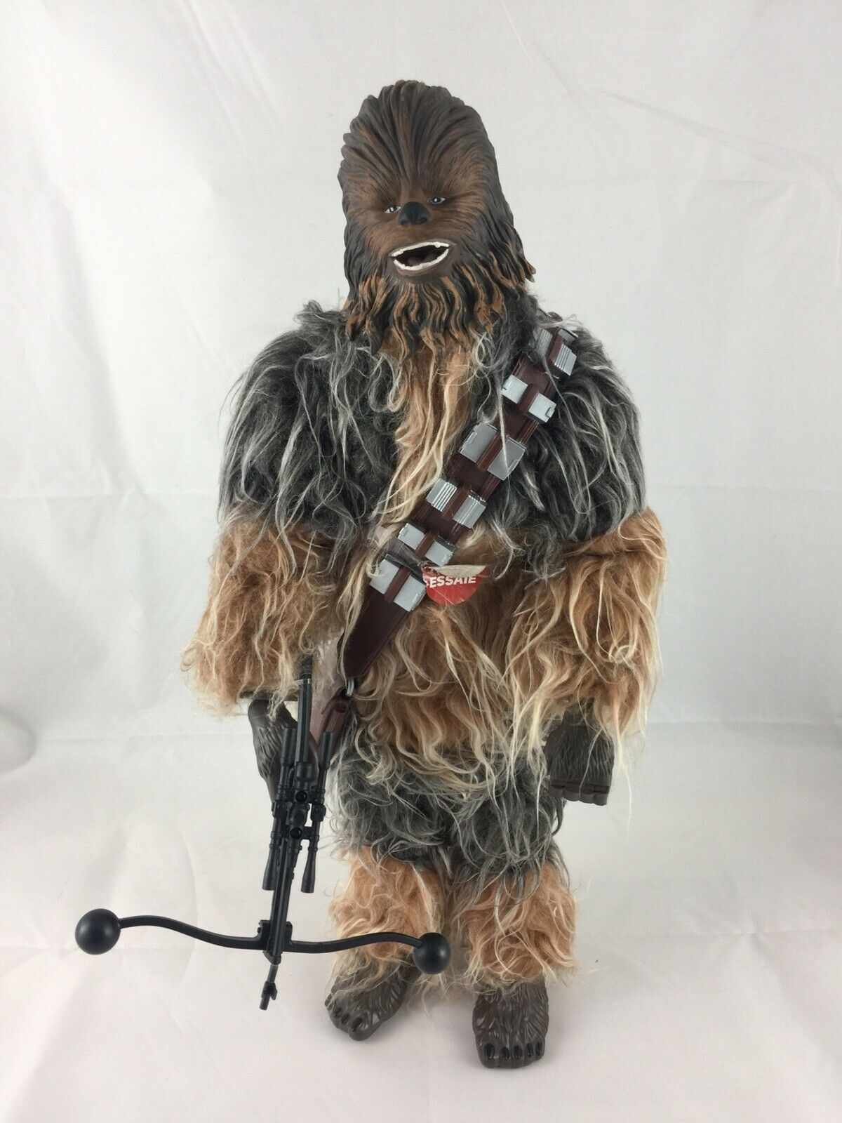 Star Wars The Force Awakens Chewbacca Animatronic Interactive Talking 17  Figure