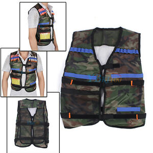Adjustable Tactical Vest Jacket for 12 Darts Gun Accessories Nerf NStrike Toys - <span itemprop='availableAtOrFrom'>Leicestershire, East Midlands, United Kingdom</span> - * We have a 45 Day Money Back Guarantee! We will issue a refund upon our receipt of the original product. * Shipping and handling fees are not refundable. Buyer is r - Leicestershire, East Midlands, United Kingdom