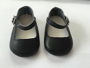 NEW AMERICAN GIRL Black Mary Jane RUTHIE MEET SHOES~Kit Accessory Ships FREE