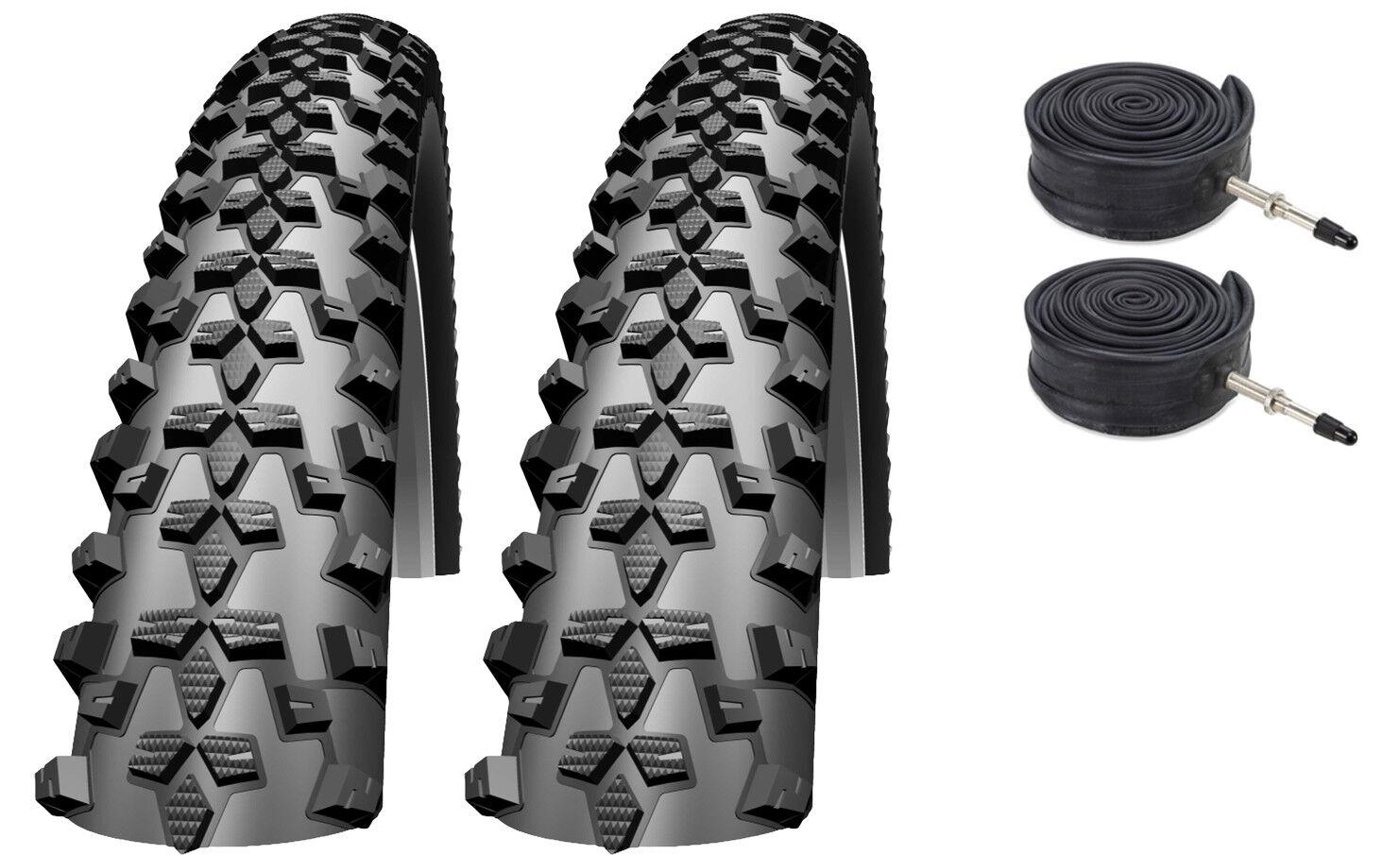 2x  XLC Mounatain X Mountain Bike   ATB Tyres With Inner Tubes 29 x 2.10   29er  credit guarantee