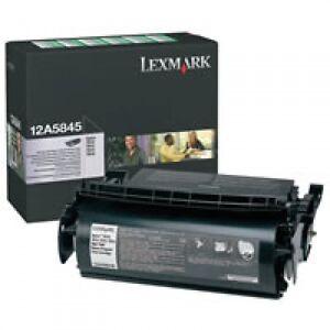 original-Lexmark-Toner-schwarz-12A5845-fuer-T610-612-614-A-Ware