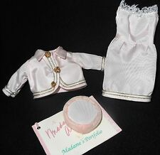 90's Madame Alexander Doll Outfit for JACKIE (Kennedy) PINK JACKET DRESS HAT TAG
