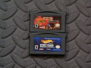 Lot Nintendo Game Boy Advance GBA Games Matchbox Missions + Hot Wheels Stunt