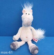 NICI Cavallo Bianco Schlenker 25 CM PELUCHE Horse Beanie muffa