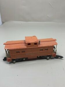 GILBERT-AMERICAN-FLYER-ORANGE-CABOOSE-READING-RR-630-S-SCALE-S5