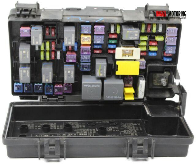 2012 dodge caravan fuse box 2012 dodge caravan tipm bcm integrated power fuse box module  2012 dodge caravan tipm bcm integrated