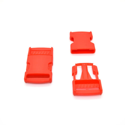25mm 1 inch Plastic Side Release Buckles Clips For Webbing Strap 8 Colours