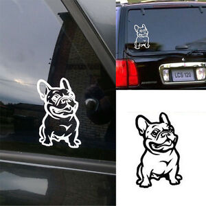 Cute-Strong-Adhesive-3d-Stickers-French-Bulldog-Dog-Car-Sticker-Vinyl-Cars-Decal