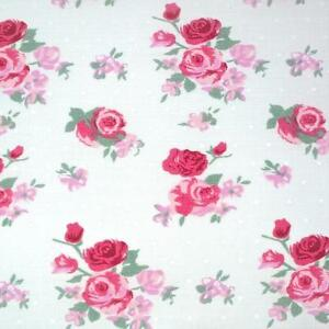 PINK-PARIS-ROSE-COTTON-POLY-FLORAL-FABRIC-BY-THE-METRE