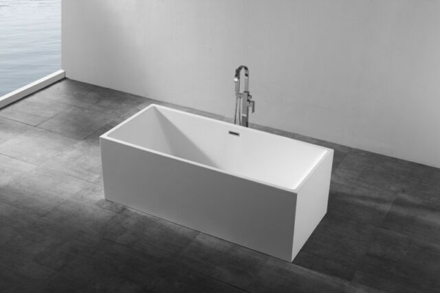 Vasca Da Bagno Larghezza 60 Cm : Bernstein design vasca da bagno freestanding nadi acrilico nahtfrei
