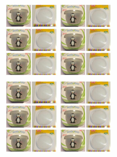 Snack Trap Toddler Spill Free Snack Cup Penguin with Extra Lid FREE
