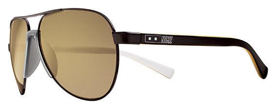 ecea25b9de2 Nike Vintage Model 101 Sunglasses EV0692 002 Shiny Black - Soft Gold Flash  Lens