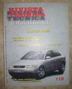 tecnica dell automobile  RIVISTA TECNICA DELL'AUTOMOBILE - N.118 AUDI A3 DIESEL (BP) | eBay