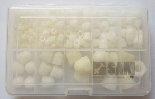 Disques//écrous Assortiment-Set Plastique Polyamide livraison gratuite