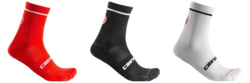 3 pairs castelli entrata  cycling socks