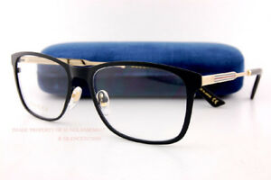 b9edecda4af1 Brand New GUCCI Eyeglass Frames GG 0301 O 001 Black For Women ...