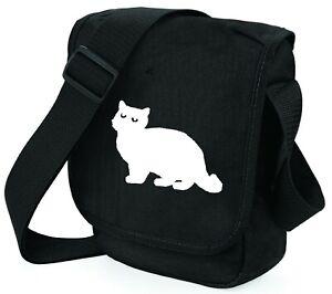 Cat Bag Silhouette Shoulder Bag Handbags Gift British Shorthair Birthday Gift
