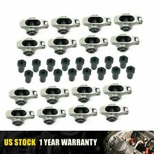 Stainless Steel Chevy Roller Tip Rocker Arms Set 38 Sbc 305 350 400 Small Block