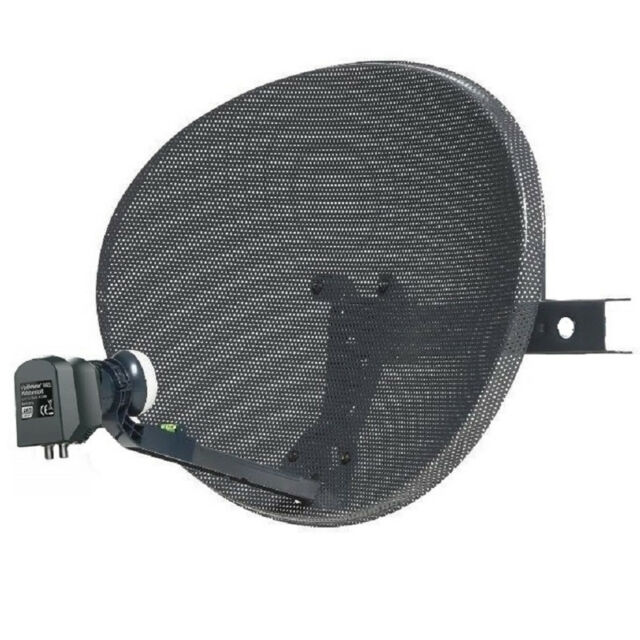 Zone 1 / 60 cm Satellite Dish & Compatible SKY Q WIDEBAND LNB