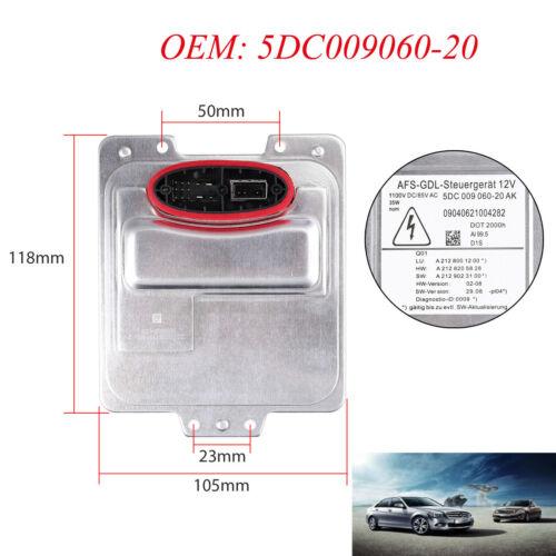 Xenon Scheinwerfer Steuergerät für 5DC 009 060-20 AN Mercedes-Benz W212 35W NEU