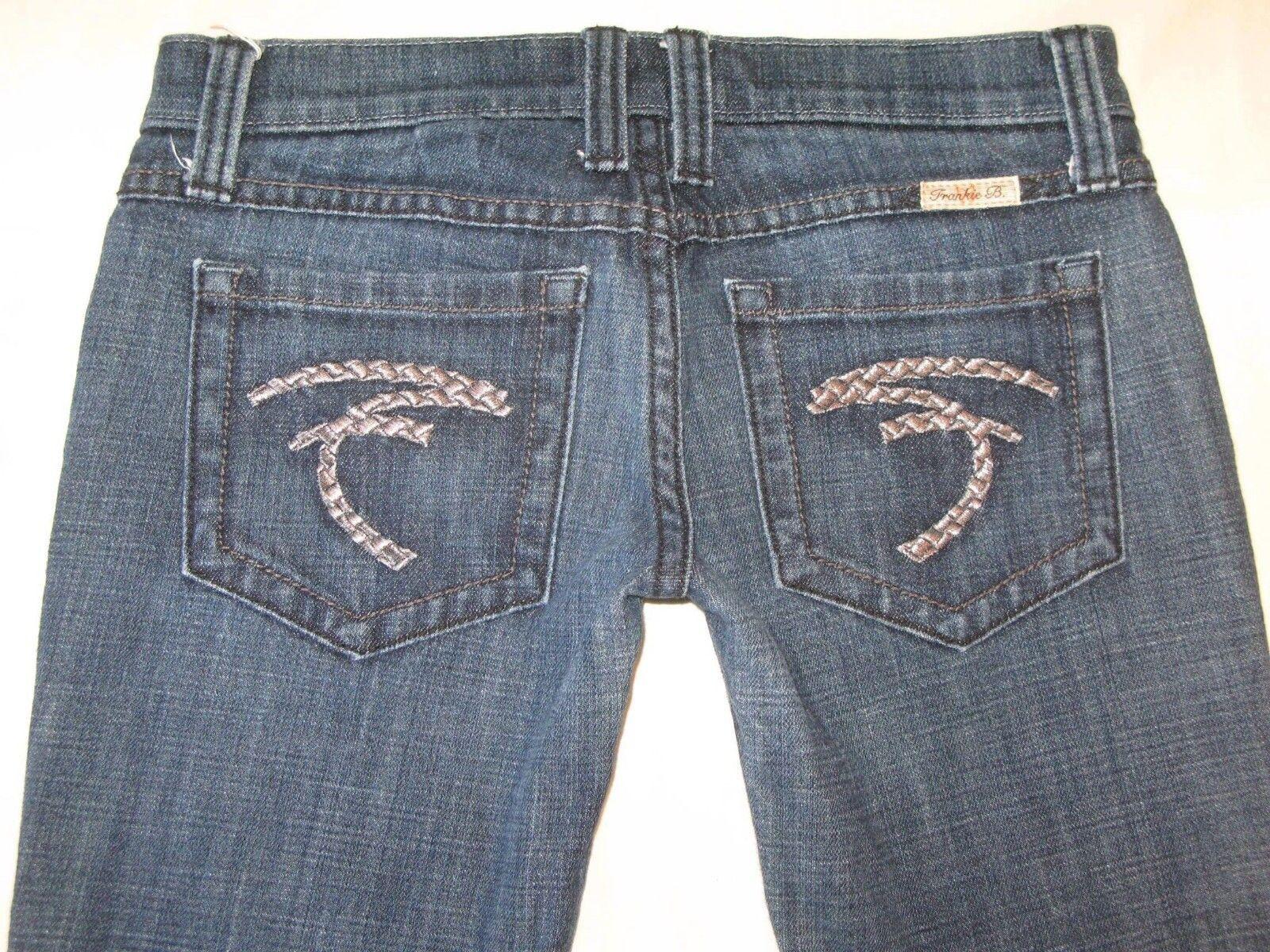 Frankie B Ausgestellte Jeans Sz 2 Niedrig Sitzende Silber Geflochten F Taschen | Ausgezeichnet (in) Qualität  | Optimaler Preis  | Hohe Qualität  | Neue Produkte im Jahr 2019  | Verkaufspreis