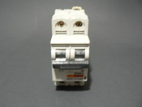 "MERLIN GERIN MULTI 9 C60HD D6 2 P0LE 6A 415V CIRCUIT BREAKER /""FREE US SHIPPING/"""