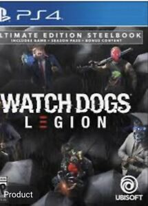 Watch Dogs Legion Ultimate Steelbook Edition Ubisoft Brand New Presale Ebay