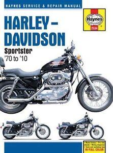 Haynes 2534 Manual for Harley Davidson Sportstar 1970-2010