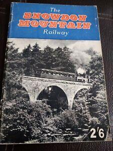 The Snowdon Mountain Railway Paperback Trains Rail Wales